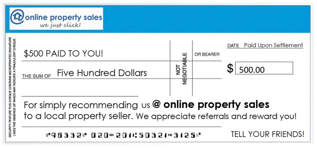 $500 referral fee